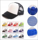 Two Tone Trucker Hat Summer Mesh Cap with Adjustable Snapback Strap-ADFD8106