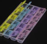 Translucent 28-Compartment Pill Box-ADCD9091