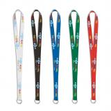 Full Color Imprint Polyester Lanyard With Custom Design-ADCS3038