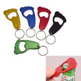 Aluminum Foot Bottle Opener With Keychain-ADWD5007