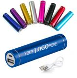 2000MAh Cylindrical Portable Power Bank-ADWD5113