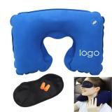 Pillow Ear Plug and Eye Mask Travel Set-ADWD5099