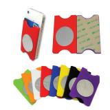 Silicone Phone Wallet With Mirror-ADWD5148