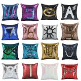 Christmas Popular Square Sequin Pillow-ADNM7195