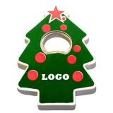 Christmas Tree Shape Magnetic Bottle Opener-ADUY5016