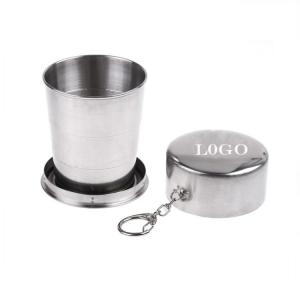 Portable Telescopic Stainless Steel Cup
