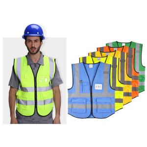 Safety Reflection Vest with Pockets