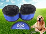 Collapsible Pet Food Bowl Waterproof Travel Bowl -  ADJU4007