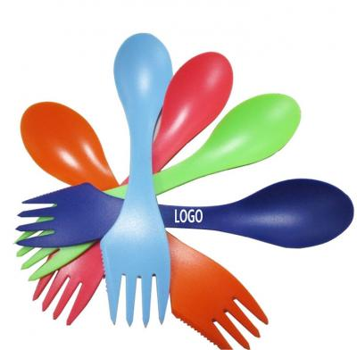 3 in 1 Multi-functional Plastic Sporks