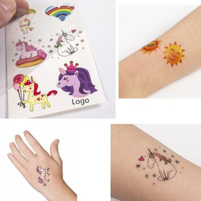 Colorful Temporary Tattoo 2
